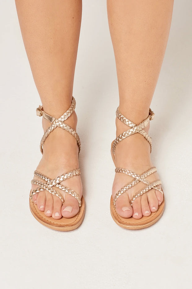 L*Space - Hermosa Sandal in Gold