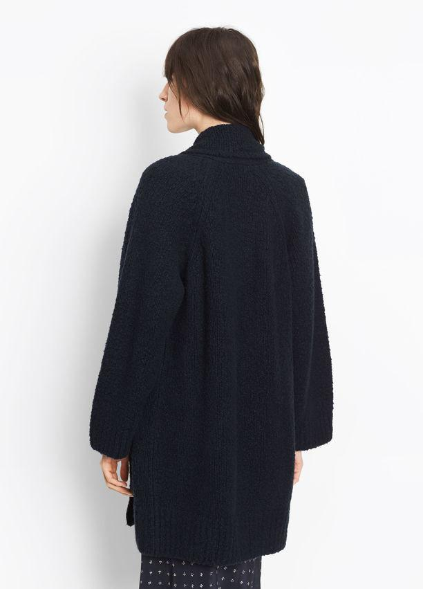 Vince - Textured Wool Cardigan
