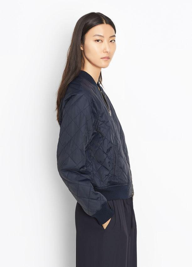 Vince - Quilted Bomber