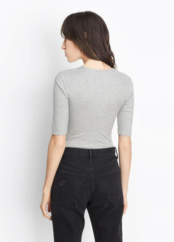 Vince - Elbow Sleeve Bodysuit