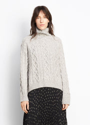 Vince - Cable Knit Turtleneck