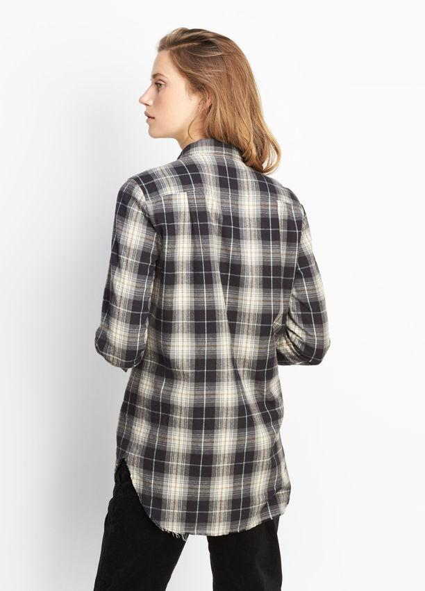 Vince - Tartan Plaid Oversized Button Down