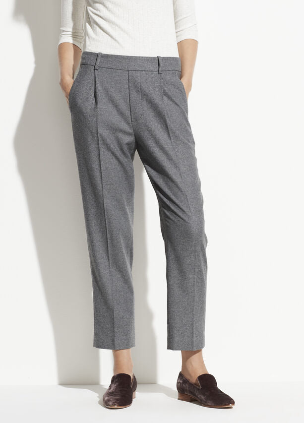 Vince - Easy Tapered Pull On Pants in Medium Heather Grey