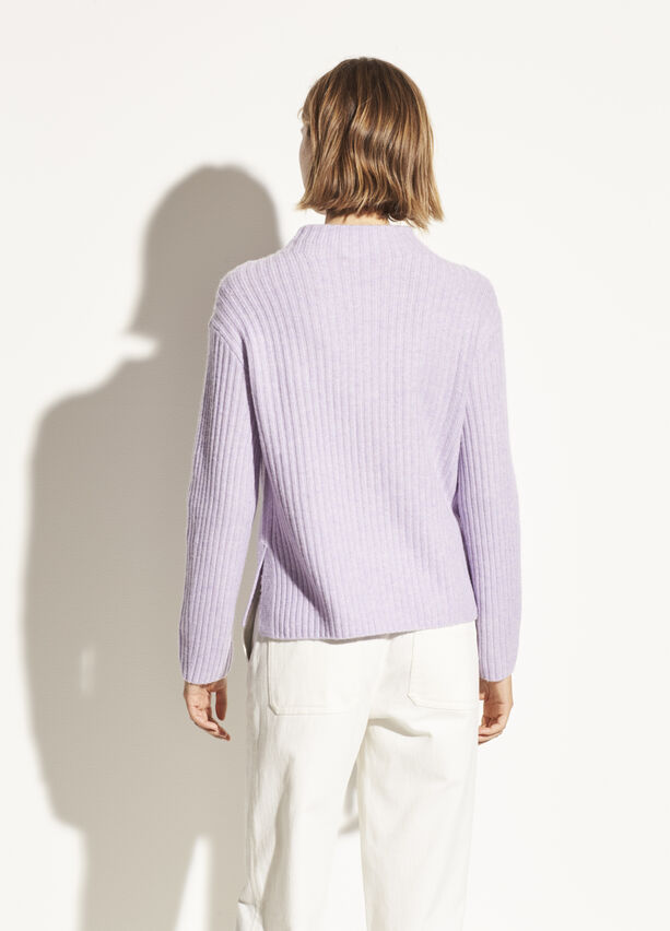 Vince - Dolman Sleeve Pullover in Lily Stone