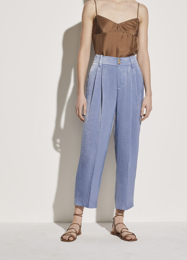 Vince - Tapered Culotte in Sky Graphite