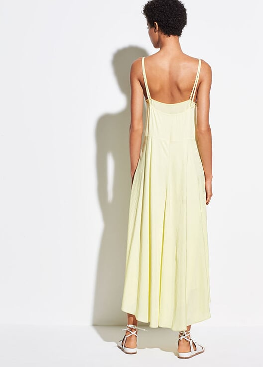Vince - Double Layer Dress Lemon Glow