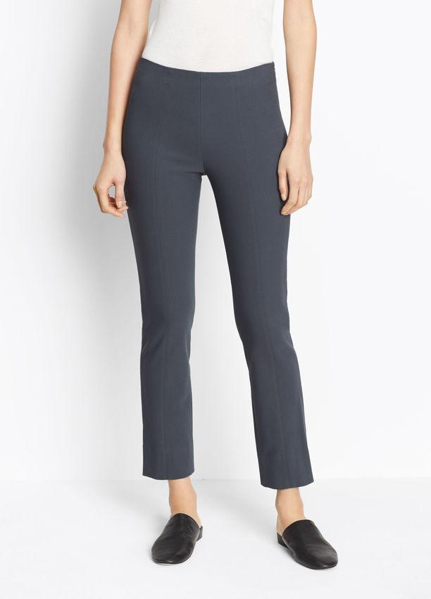 VINCE - Stitch Front Seam Legging Dark Grey