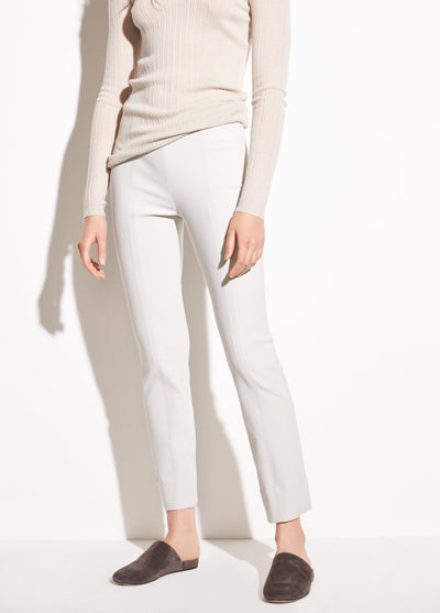 Vince - Stitch Front Seam Legging in Gesso