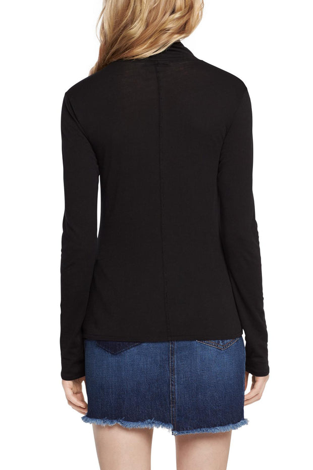 Rag & Bone Rag & Bone - Base Turtleneck Black at Blond Genius - 2