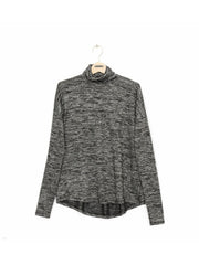 Rag & Bone Rag & Bone - CUTOUT LONG SLEEVE W266C53C7  Black Heather Grey at Blond Genius - 1