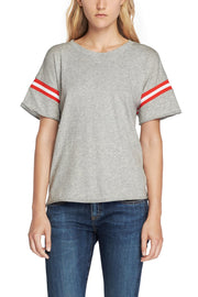 Rag & Bone Rag & Bone - VINTAGE CREW WITH VARSITY RIB at Blond Genius - 1