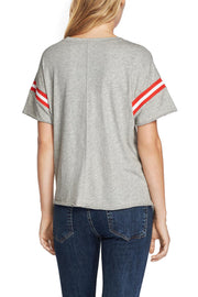 Rag & Bone Rag & Bone - VINTAGE CREW WITH VARSITY RIB at Blond Genius - 2