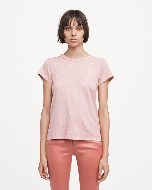 Rag & Bone - The Tee in Greyed Pink