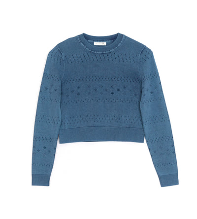 Rag & Bone - Khendra Crew in Blue