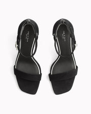 Rag & Bone- Ellis Sandal Black Suede