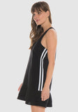 Bella Dahl - Sport Stripe Racer Back Dress