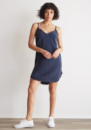 Bella Dahl - Frayed Cami Dress Bermuda Navy