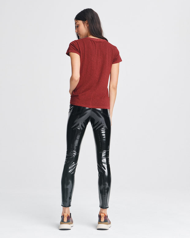 Rag & Bone - The Tee in Black Cherry
