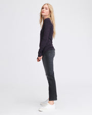 Rag & Bone - Jane Slim Longsleeve Purple Night