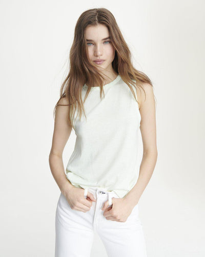 Rag & Bone - The Jersey Muscle Tank in Pale Mint