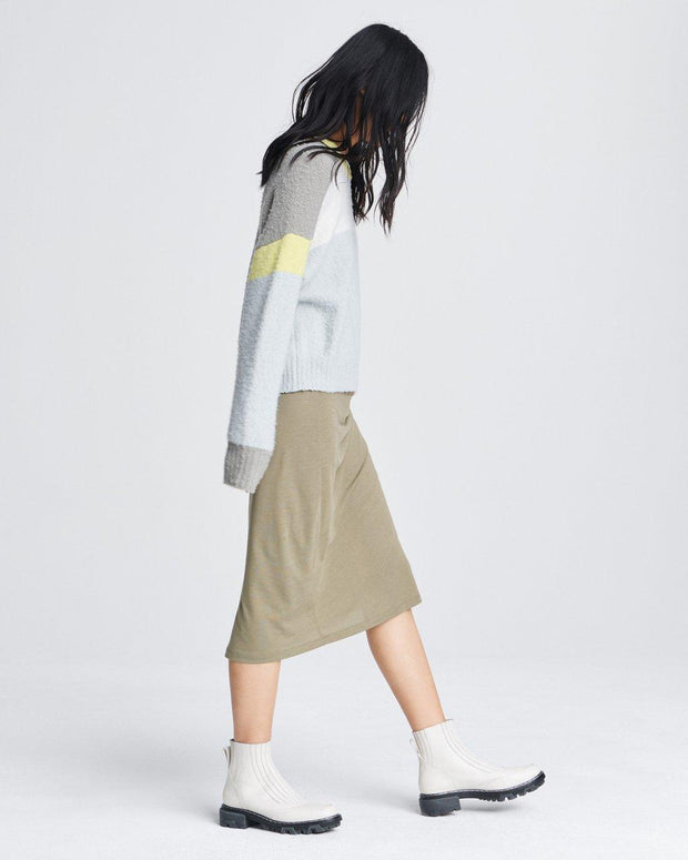 Rag & Bone - Lilou Crew Sweater in Grey Ice