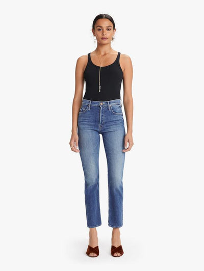 Mother - The Tomcat Straight-Leg Jeans in Wild Game