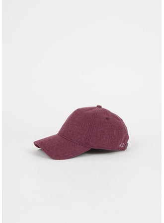 Rag & Bone - Marilyn Baseball Cap in Pink Wool