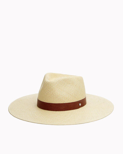Rag & Bone - Wide Brim Panama Hat in Natural