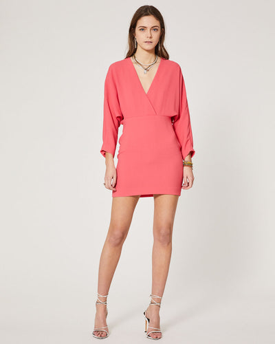 IRO - Detina Dress in Hot Coral