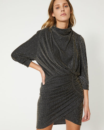IRO - Absalon Dress in Black/Silver