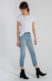 n:Philanthropy - Harlow Distressed BFF Tee White