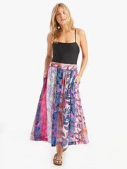 Xirena - Teagan Printed Skirt in Pinks