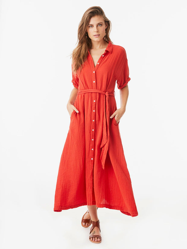 Xirena - Caylin Dress in Red Rose