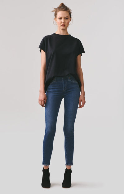 AGOLDE - Sophie Mid Rise Ankle Jeans in Tame