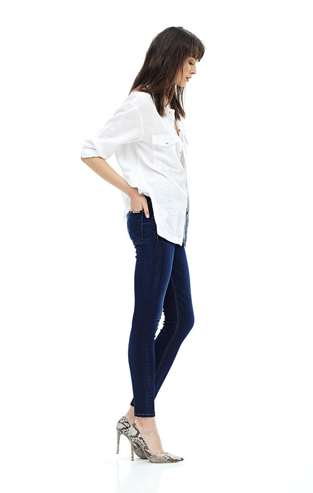 Hudson - Barbara High Waist Skinny Ankle