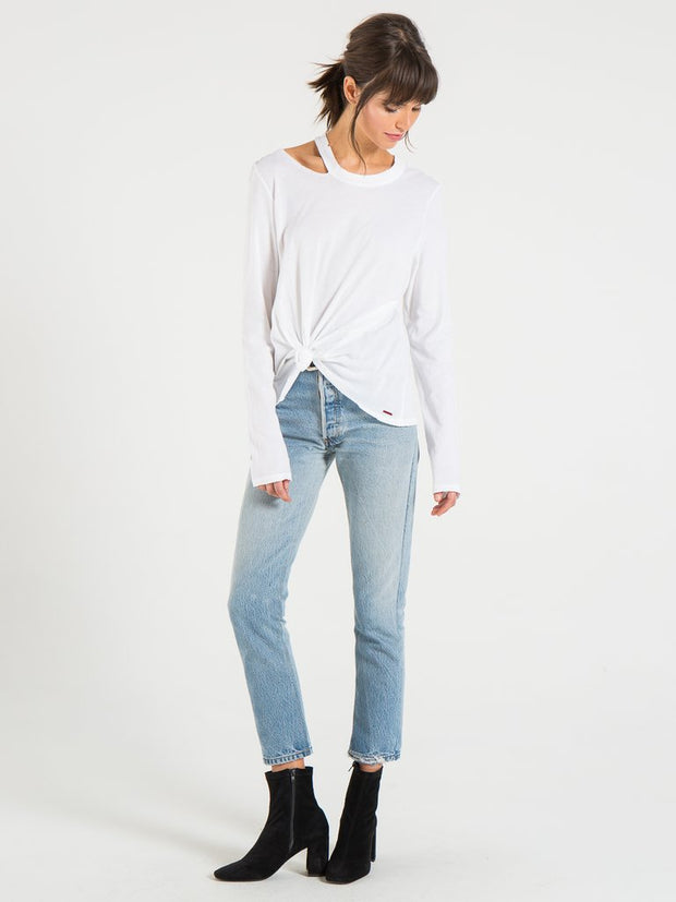 n:Philanthropy - Alexa Long Sleeve White