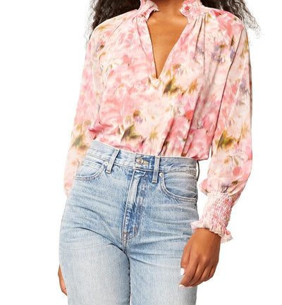 Misa - Alexis Top in Taza Floral