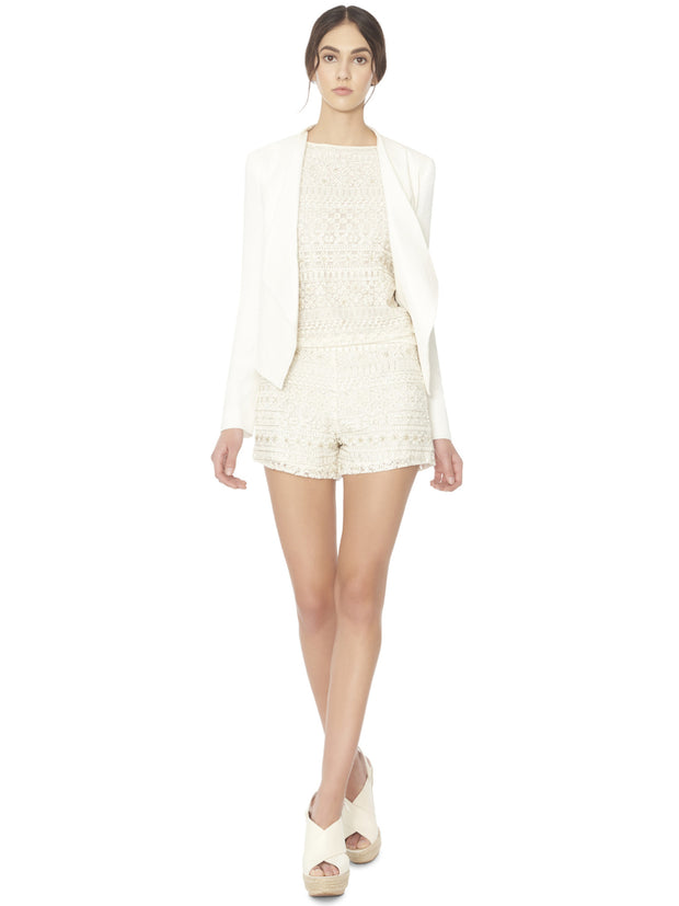Alice + Olivia Claude Drop Oversize Blazer at Blond Genius - 1