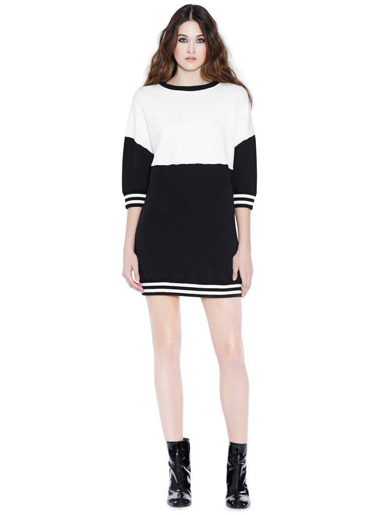 Alice + Olivia - GUSSIE SWEATSHIRT DRESS