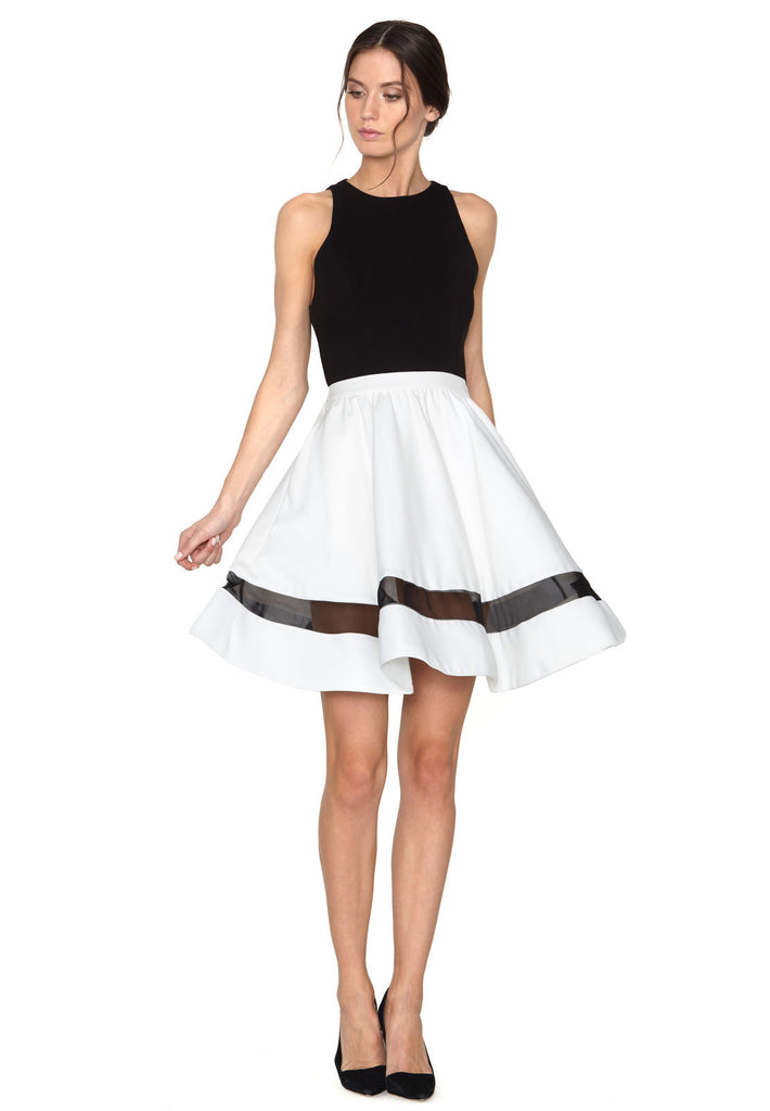 Alice + Olivia Lotus High Waist Skirt at Blond Genius - 1