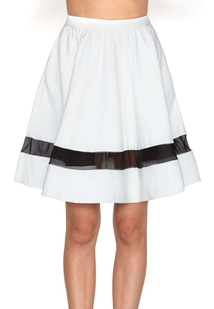 Alice + Olivia Lotus High Waist Skirt at Blond Genius - 2