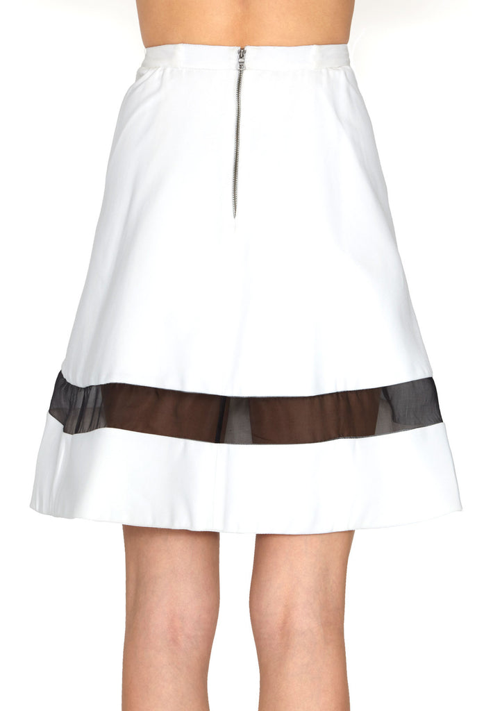 Alice + Olivia Lotus High Waist Skirt at Blond Genius - 3