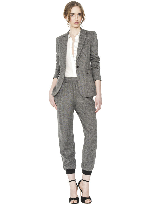 Alice + Olivia - Macey Fitted Notch Collar Blazer