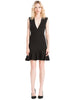 Alice & Olivia - Onella V Neck Dress