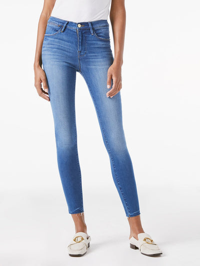 Frame - Le High Skinny Raw Edge in Ambrose