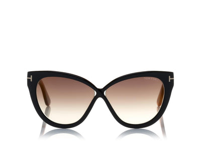 Tom Ford - Arabella Dark Havana/Gradient Smoke