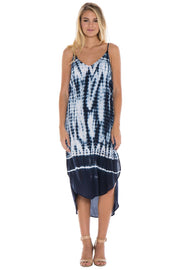 Bella Dahl Bella Dahl - Tie Back Dress Tidal Wave Tie Dye at Blond Genius - 1