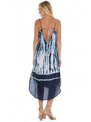 Bella Dahl Bella Dahl - Tie Back Dress Tidal Wave Tie Dye at Blond Genius - 3