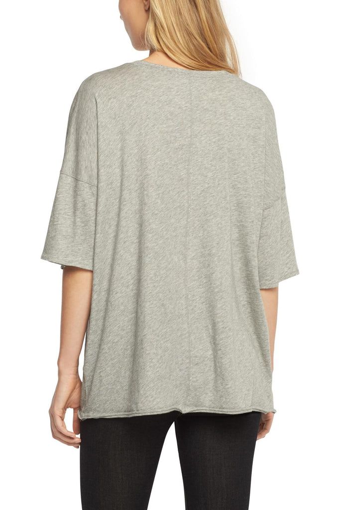 Rag & Bone Rag & Bone - The Big Tee Heather Grey at Blond Genius - 2
