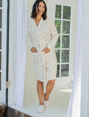 Barefoot Dreams - Cozychic Women's Barefoot in the Wild Robe in Cream Stone